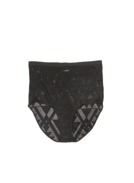 Only Hearts Origami Burnout High Waist Brief