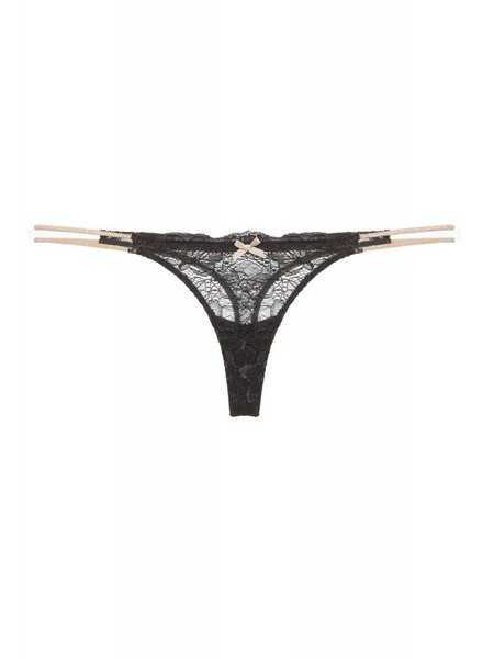 Eberjey Everly Double String Thong