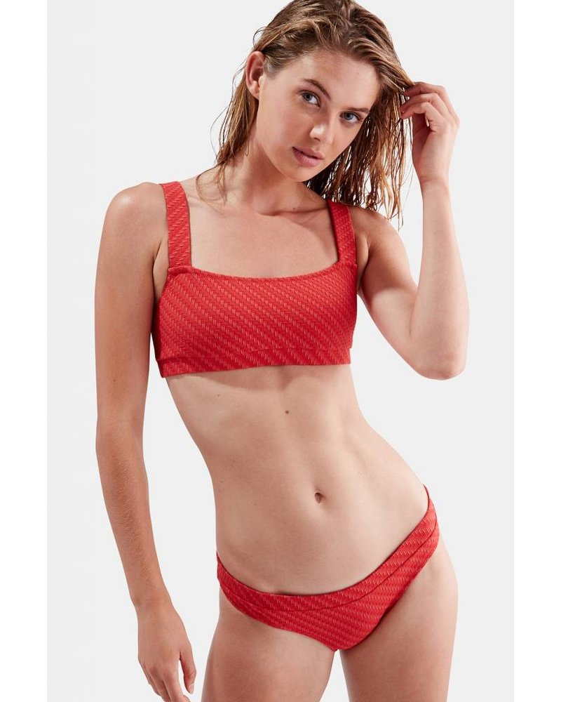 Solid & Striped Madison Basket Weave Bikini Bottom