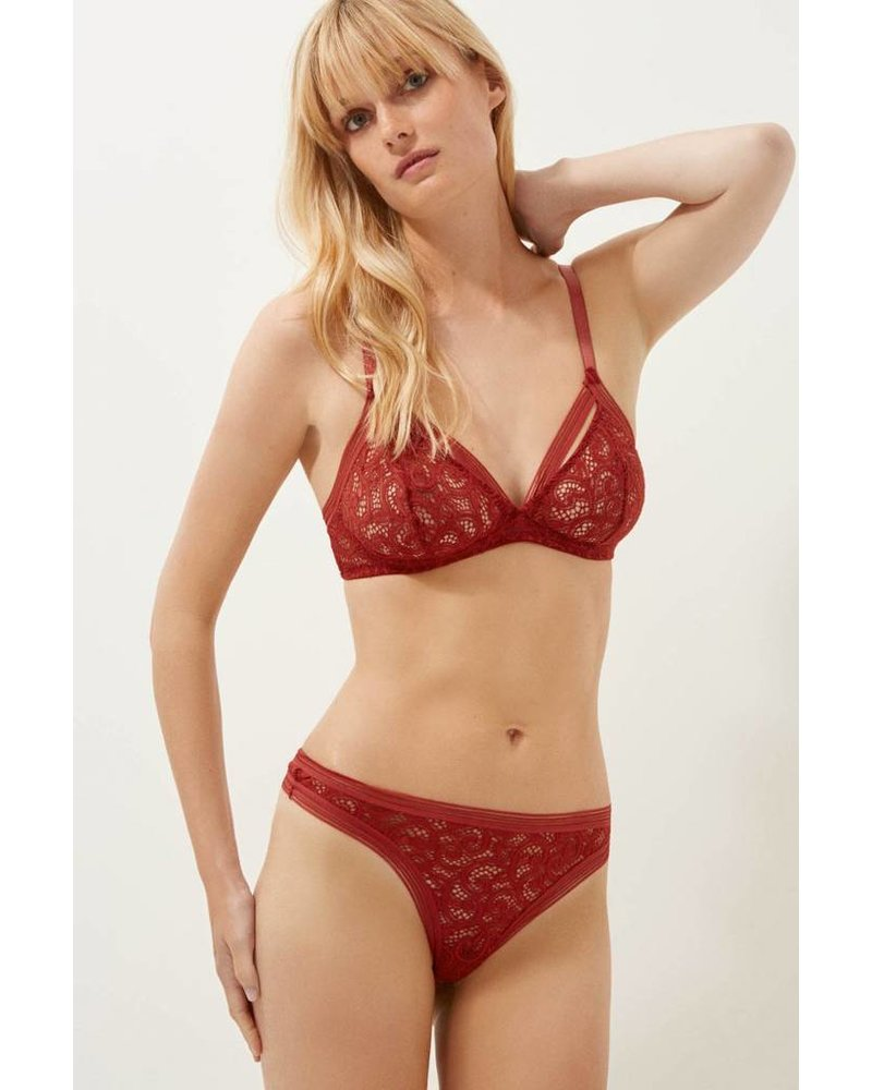 Else Paisley Soft Cup Triangle Bra