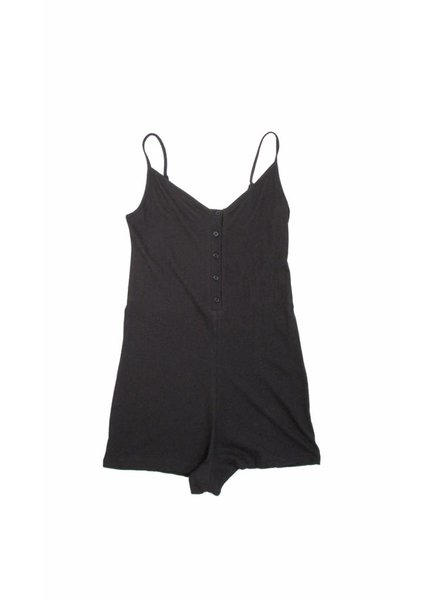 Only Hearts Organic Cotton Henley Romper