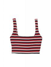 Solid & Striped Jamie Stripe Rib Bikini Top