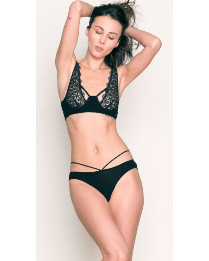 Only Hearts Recycled Lace Underwire Bra