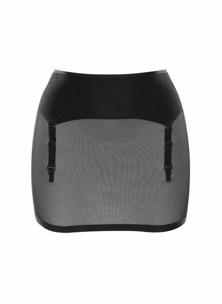 Maison Close Belle De Jour Skirt w/Suspenders