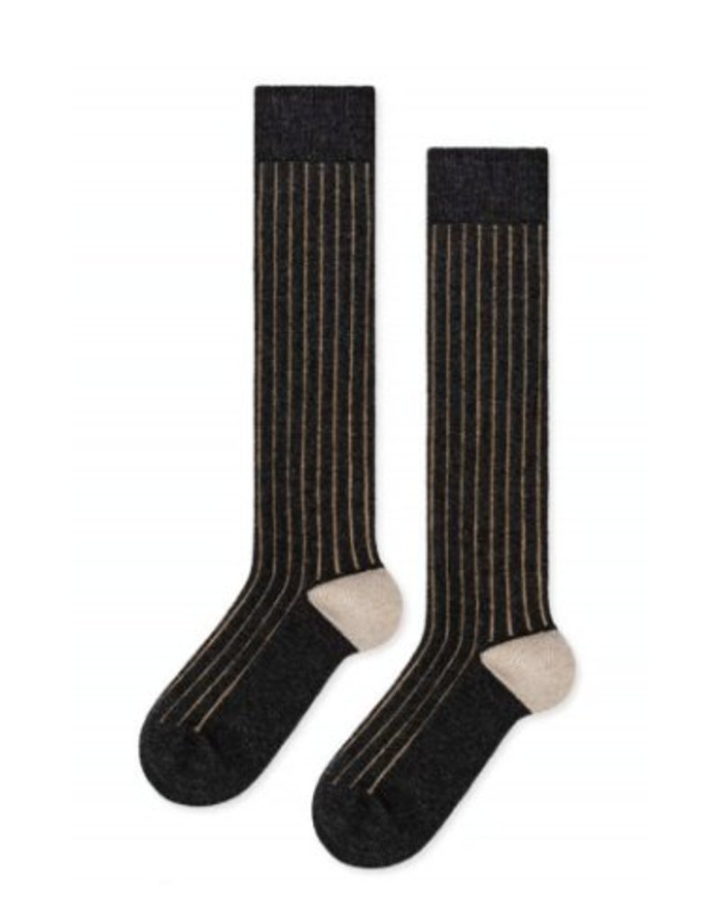 Hansel from Basel Cashmere Rib Knee High