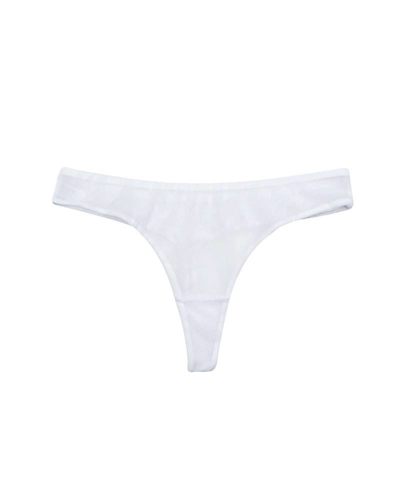 Timpa Mesh Low-Cut Thong