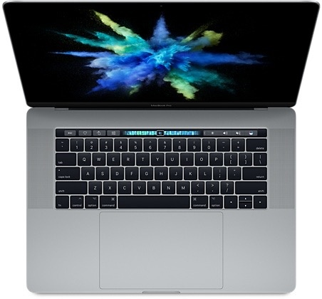 """Apple Macbook Pro 15"""" with Touch Bar 2.9GHz i7 16GB 512GB 4GB Radeon Pro 560 - Space Grey 2017"""