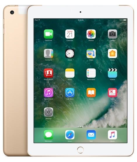 Apple iPad 2017 Wi-Fi Cellular 32GB - Gold