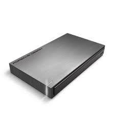 Lacie Porsche Design USB 3.0 Portable Hard Drive - 1TB