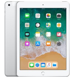 Apple iPad Wi-Fi + Cellular 32GB - Silver (6th Gen 2018)