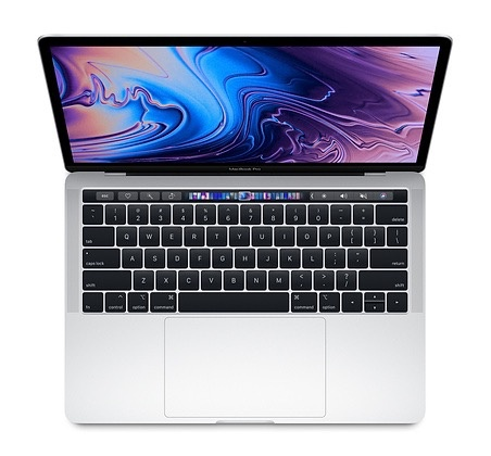 "Apple MacBook Pro 13"" Touch Bar 2.3GHz 256GB - Silver 2018"