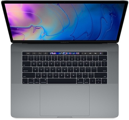 "Apple MacBook Pro 15"" Touch Bar 2.6GHz 512GB- Space Grey 2018"