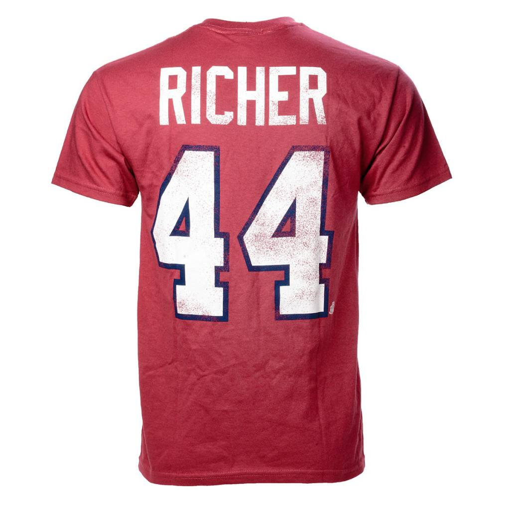 Old Time Hockey RICHER #44 PLAYER T-SHIRT