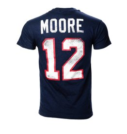 Old Time Hockey MOORE #12 PLAYER T-SHIRT