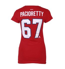 Reebok WOMEN'S PACIORETTY #67 PLAYER T-SHIRT