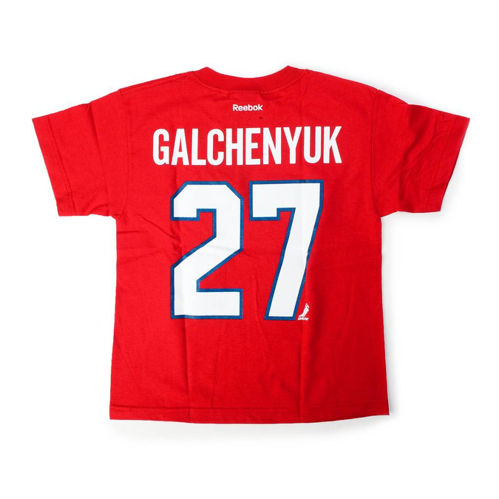Reebok YOUTH PLAYER T-SHIRT GALCHENYUK #27