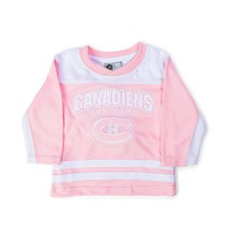 Mighty Mac FASHION PINK HOCKEY BABY JERSEY