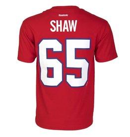Reebok T-SHIRT JOUEUR #65 SHAW