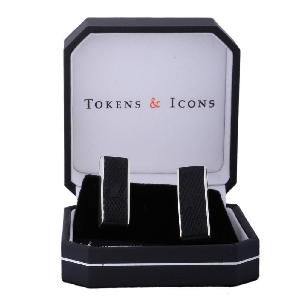 Tokens & Icons BOUTONS DE MANCHETTE CARRE