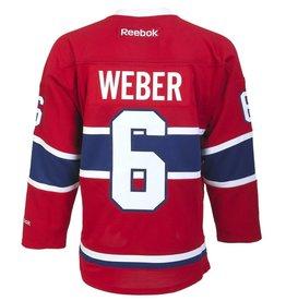 Reebok CANADIENS SEWN REPLICA #6 WEBER JERSEY
