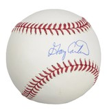 Club Du Hockey GARY CARTER SIGNED BASEBALL