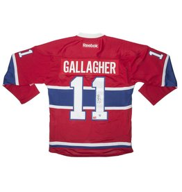 Classic Auctions JERSEY SIGNED BY BRENDAN GALLAGHER