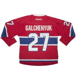 Frameworth JERSEY SIGNED BY ALEX GALCHENYUK
