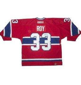 Club Du Hockey JERSEY SIGNED BY PATRICK ROY