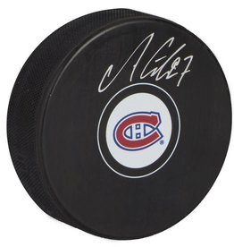 Classic Auctions SIGNED PUCK BY ALEX GALCHENYUK