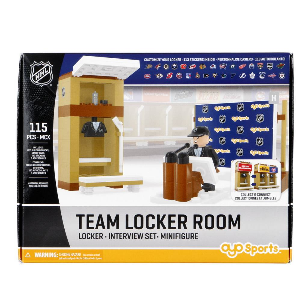 Canadiens Locker Room Sale