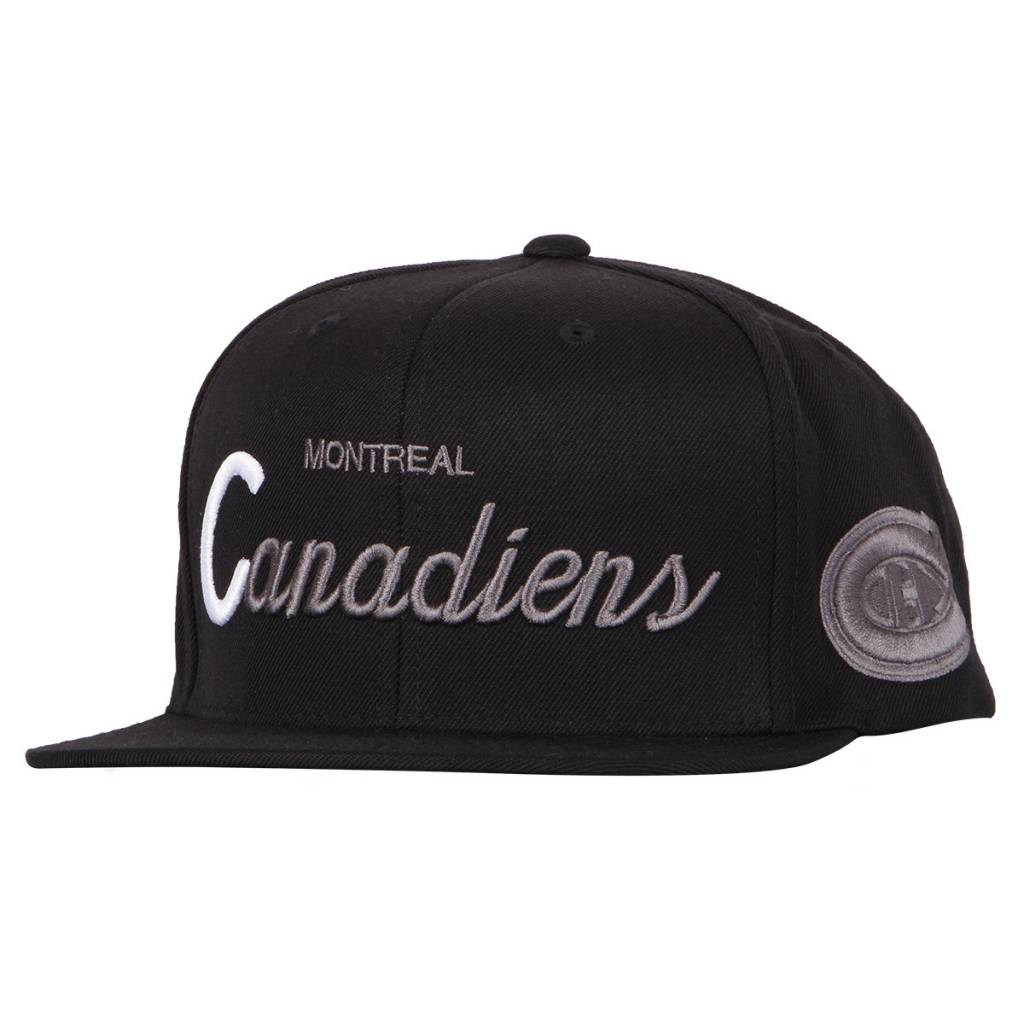 Mitchell & Ness CASQUETTE BLANC INITIAL
