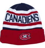 New Era TUQUE ROUGE BLANC CANADIENS