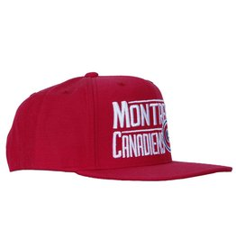 Reebok MONTREAL CANADIENS TEXT HAT