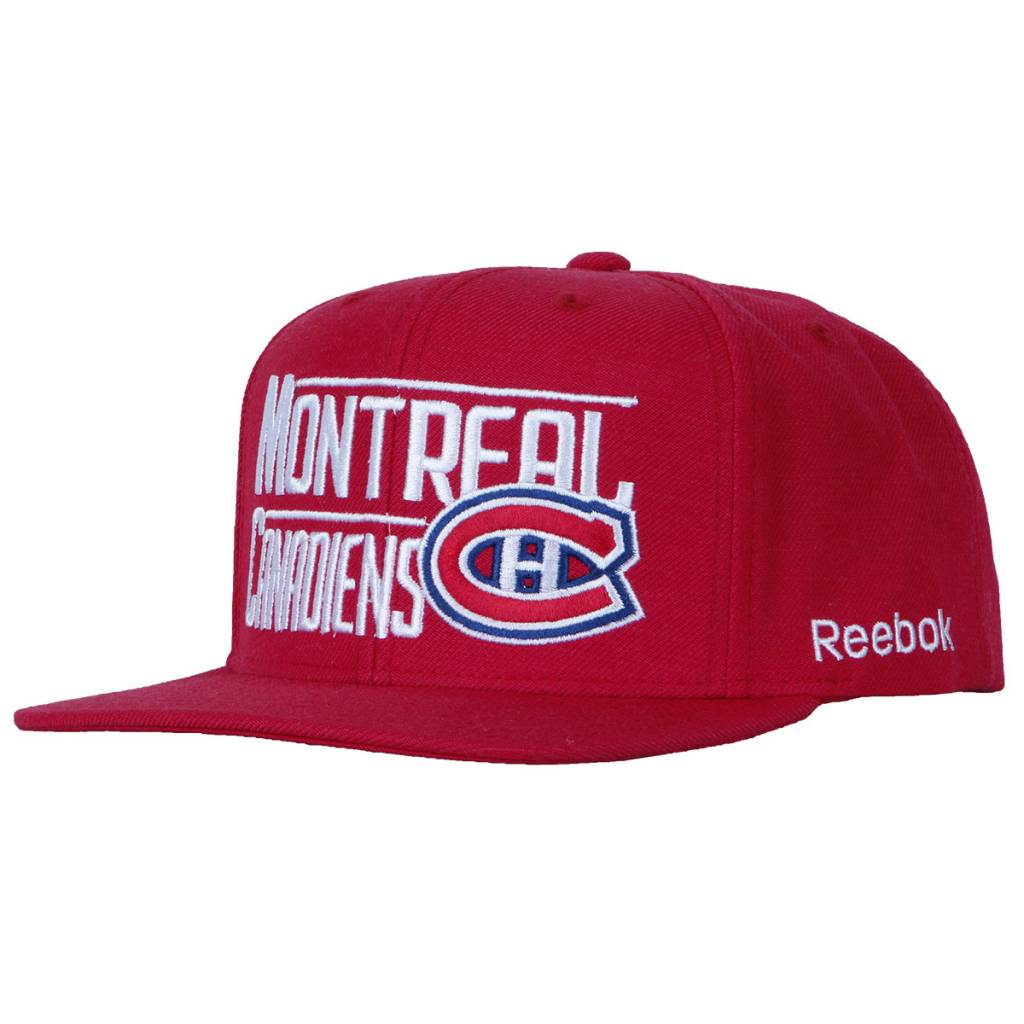 Reebok CASQUETTE LOGO MONTREAL CANADIENS