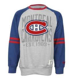 Old Time Hockey MANCHE LONGUE LOGO BRODÉ APPLIQUÉ