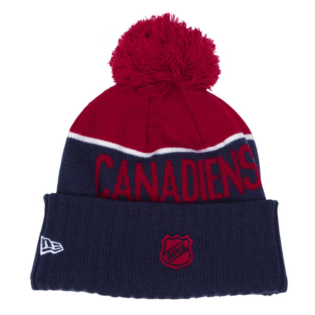 New Era TUQUE POMPON DOUBLURE POLAIRE