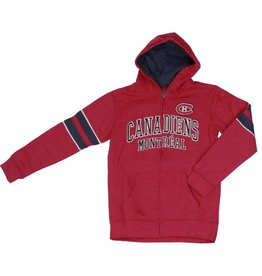 Old Time Hockey ZIP UP JUNIOR SWEATER