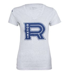 Today Tomorrow Apparel BASIC LOGO POLY ROCKET WOMEN'S T-SHIRT
