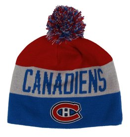 Old Time Hockey TUQUE POMPON 3 COULEURS