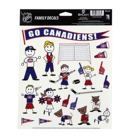 Wincraft CANADIENS FAMILY DECALS