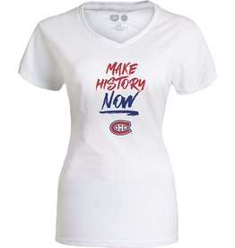 Old Time Hockey T-SHIRT HISTORY FEMME