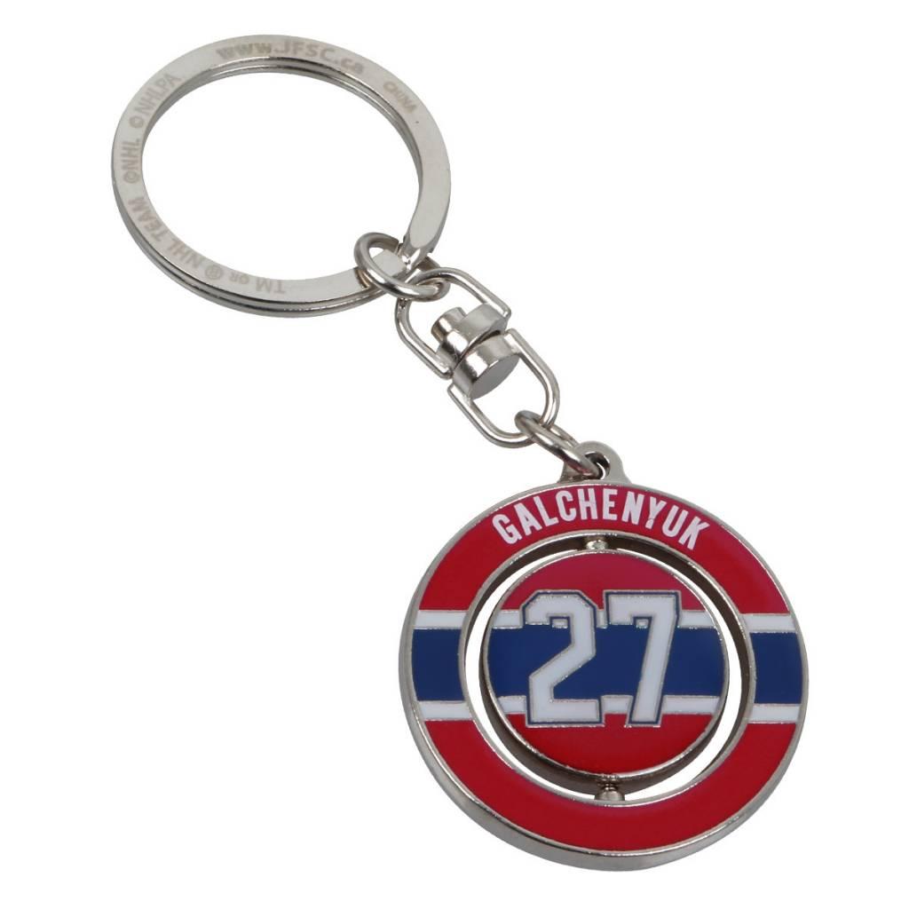 JF Sports PORTE-CLÉ SPINNER GALCHENYUK 27