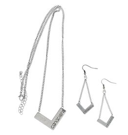 Little Earth CANADIENS NECKLACE AND EARRINGS SET