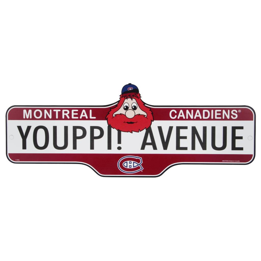 Mustang YOUPPI! AVENUE SIGN