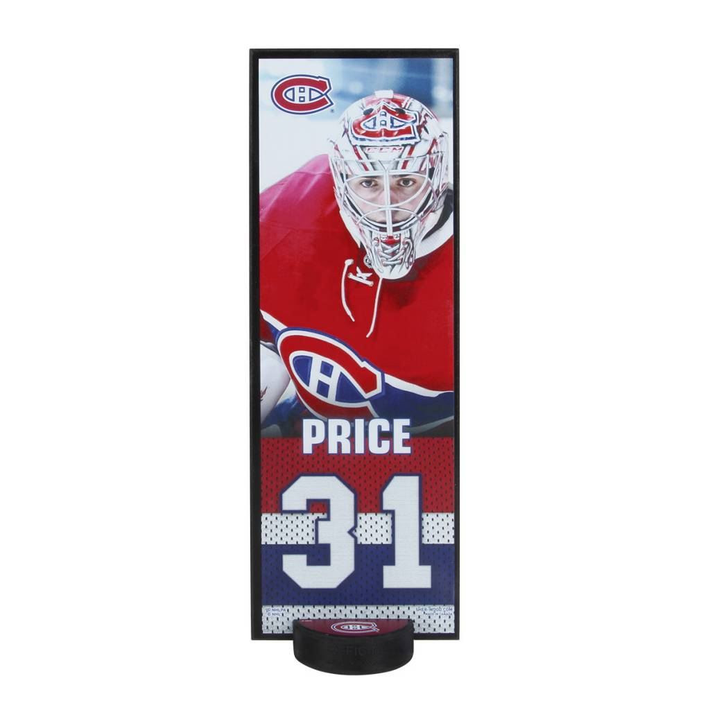 Sher-Wood PLAQUE PHOTO CAREY PRICE