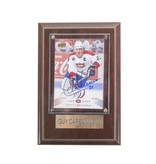 Cico Collectible HOCKEY CARD SIGNED BY GUY CARBONNEAU