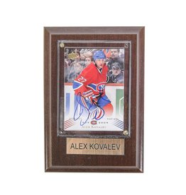 Cico Collectible HOCKEY CARD SIGNED BY ALEX KOVALEV