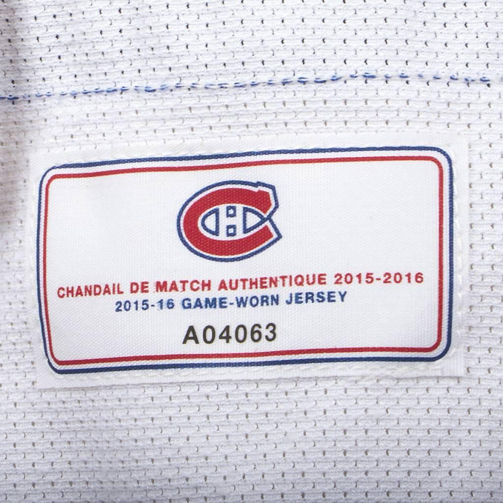 Club De Hockey CHANDAIL PORTÉ 2015-2016 #6 GREG PATERYN SÉRIE 2 À L'ÉTRANGER