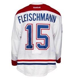Club De Hockey CHANDAIL PORTÉ 2015-2016 #15 THOMAS FLEISCHMANN SÉRIE 1 À L'ÉTRANGER