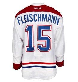 Club De Hockey 2015-2016 #15 THOMAS FLEISCHMANN AWAY SET 2 GAME-USED JERSEY